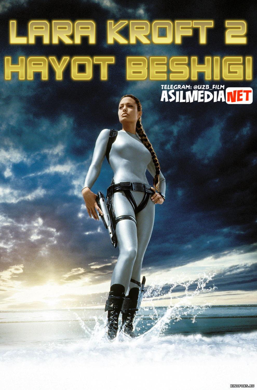 Lara Kroft 2: Hayot beshigi Uzbek tilida 2003 HD O'zbekcha tarjima tas-ix skachat